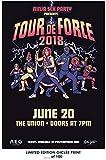 Lost Posters Rare Poster Thick Ninja Sex Party Tour de Force 2018 Reprint #'d/100!! 12x18