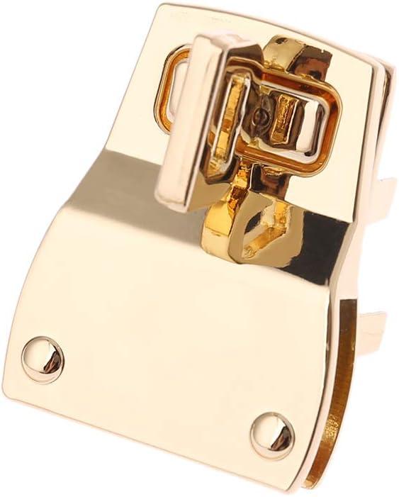 SimpleLife Frauen Metall DIY Handtasche Schultertasche Geldb/örse Twist Turn Lock Snap Verschluss Tasche Zubeh/ör Hardware