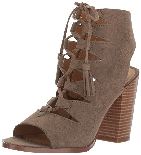 Lace Up Slingbacks (Report Women's Bikka Gladiator Sandal, Olive, 7.5 M US)