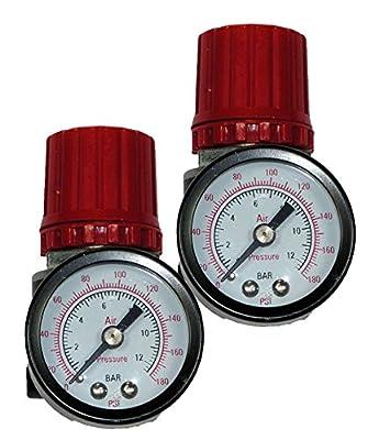 Stanley Bostitch CAP1050 Compressor (2 Pack) Replacement Pressure Regulator # AB-9051114-2pk