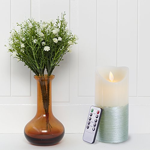Gideon 7 Inch Flameless LED Candle - Real Wax & Real ...