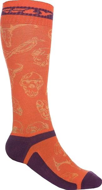 Fly Racing Unisex-Adult Mix Pro Socks Thick Grey//Black Large//X-Large