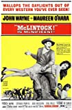 McLintock POSTER Movie (11 x 17 Inches - 28cm x 44cm) (1963)