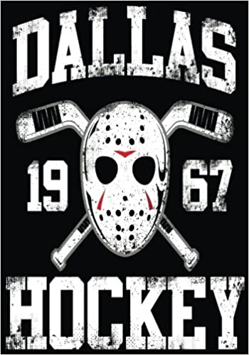Dallas 1967 Hockey: Hockey Books For Kids, Journal & Personal Stats Tracker, 100 Games, 7 x 10