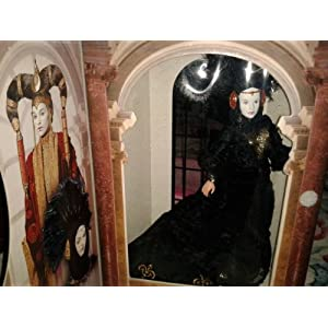 Star Wars Episode I Queen in Black Travel Gown