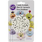 Wilton Icing Candy Decorating Stencil, Small Eyeballs