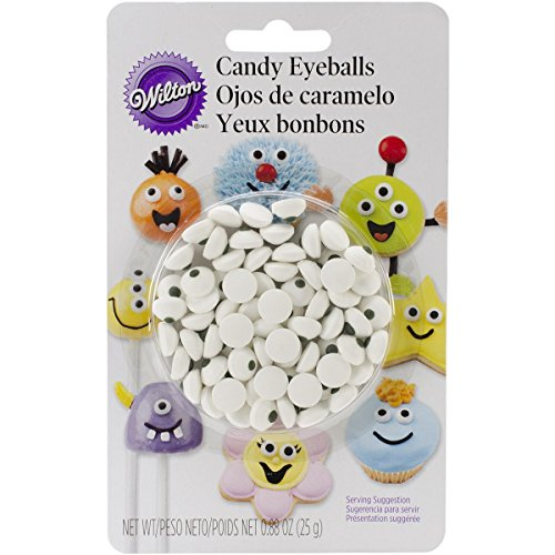 Wilton Icing Candy Decorating Stencil, Small Eyeballs