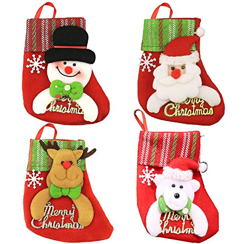 Mini Needlepoint Christmas Stocking (Christmas Stocking 6.3