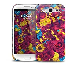 Colourful Abstract Pink Pattern Samsung Galaxy S3 GS3 protective phone case by icecream design