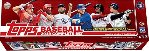 2019 Topps Baseball Factory Sealed Hobby Complete Set - Baseball Wax Packs from Sports Memorabilia