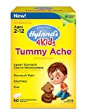 stop gas - Hyland's 4 Kids Tummy Ache Tablets, Natural Relief of Upset Stomach, Diarrhea and Gas for Kids, 50 Count