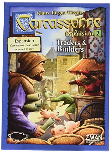 Carcassonne Game (Carcassonne Expansion 2 Traders and Builders Game)