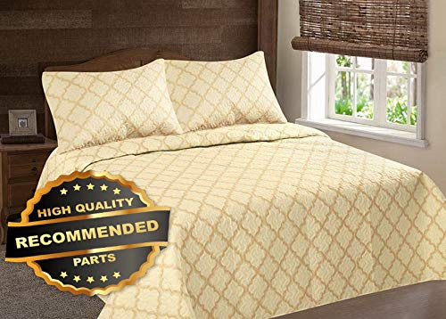 Werrox Lancaster Geometric CLOSOUT Quilt Bedding Bedspread Coverlet Pillow Cases Set Queen Size | Quilt Style QLTR-291267529