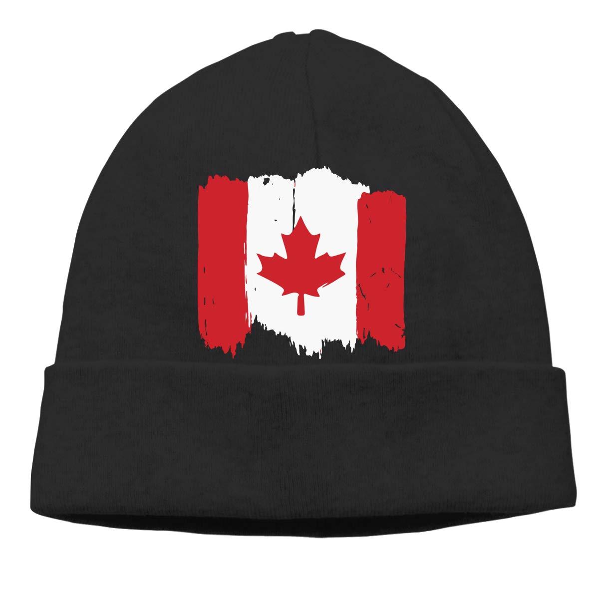 GDSG5/&4 Canadian Flag Men//Women Knitting Wool Warm Winter Ski Beanie Cap