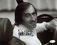 JACKIE STEWART HAND SIGNED 8x10 PHOTO GREAT FORMULA 1 CHAMPION - JSA Certified - Autographed Extreme Sports Photos by Sports Memorabilia