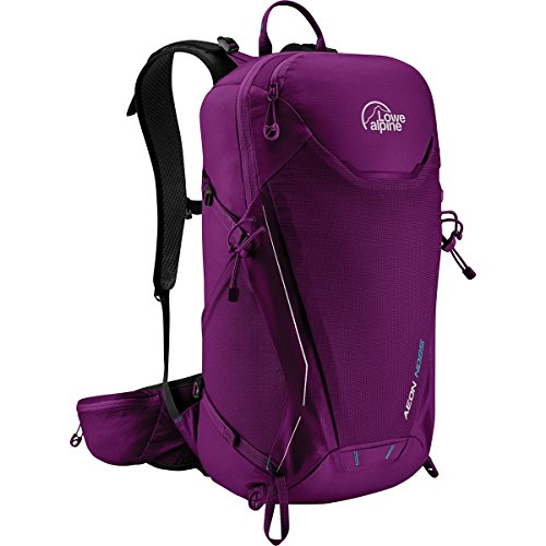 Lowe Alpine Womens Backpack - Lowe Alpine AEON ND25 WOMENS BACKPACK (RUBY WINE)