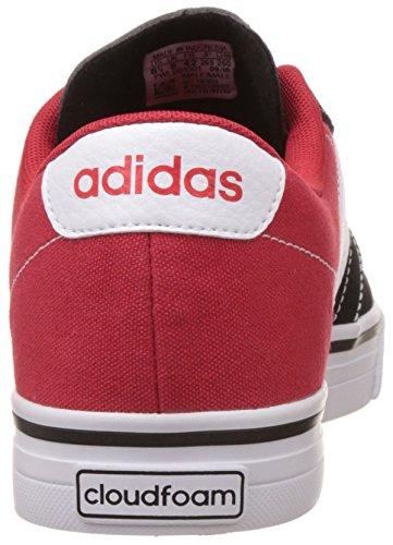 adidas Cloudfoam Super Skate, Zapatillas Para Hombre, Rojo (Escarl/Ftwbla/Negbas), 42 EU