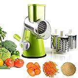 Best Vegetable Slicers - Vegetable Mandoline Slicer, Zacfton Vegetable Fruit Cutter Cheese Review