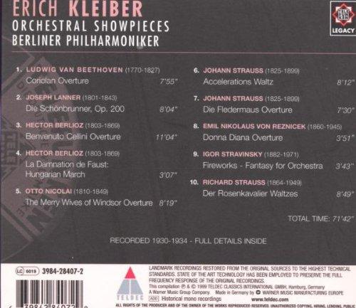Orchestral Showpieces by Elektra / Wea