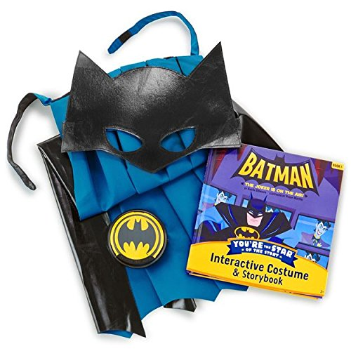 [BATMAN Costume and Storybook] (Halloween Storybook Costumes)