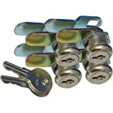 """Prime Products 1011.1160 18-3310 5/8"""" Keyed Camlock- Pack of 4"""