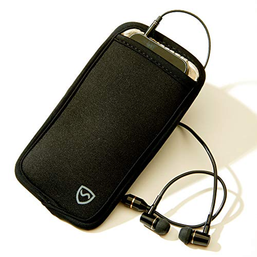 SYB Phone Pouch, Cell Phone EMF Protection Holster Sleeve Phones up to 2.75'' Wide Belt Hoop by SYB (Image #2)