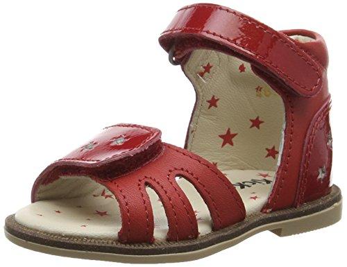 Kickers Moonstar Baby Mädchen Lauflernschuhe Rot - rot