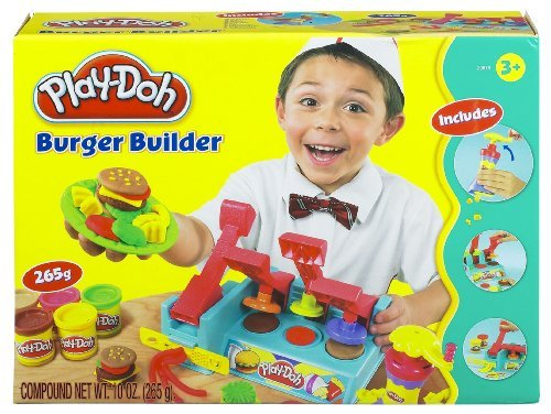 Make Your Own Play-Doh Meal With The Burger Builder! - Play-doh Burger Builder