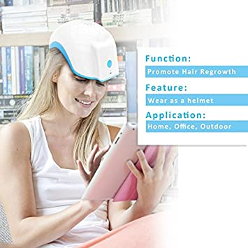Therapy Alopecia Helmet, CE Approved Hair Loss Regrowth Treatment Therapy Alopecia Cap Helmet