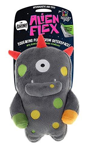 Spunky Pup Ghim Alien Flex Plush Toy