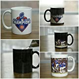 "World Series Champion Chicago Cubs Color Changing 11oz. Coffee Mug plus a free 3"" White Chicago Flag Decal. …"