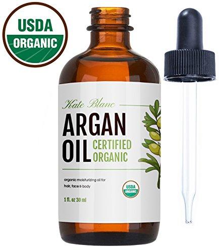Moroccan Argan Oil , USDA Certified Organic, Virgin, 100%
