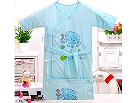 AHIMITSU Saco de Dormir de Noche Saco de Dormir Abotonado bebé recién Nacido Saco de Dormir