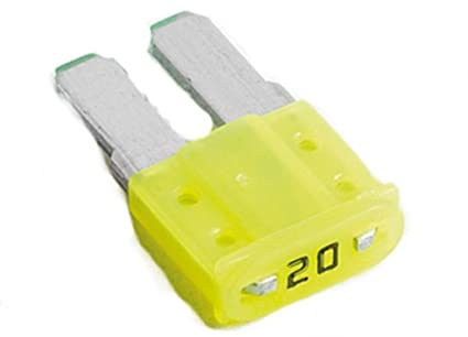 51NB%2BvyzuCL._SX425_ amazon com gm micro blade fuse 32v 20 amp yellow color (gm