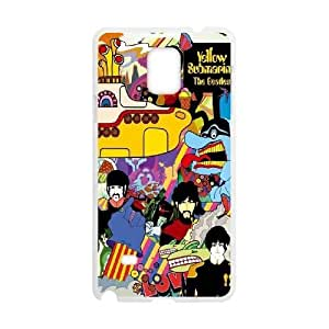 DIY Case for samsung galaxy note4 w/ The Beatles image at Hmh-xase (style 7)