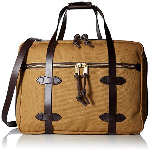 Filson Unisex Pullman - Small Tan Handbag (Duffle Twill Bag Filson Rugged)