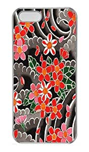 Cherry Blossoms Custom iPhone 5s/5 Case Cover Polycarbonate Transparent