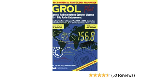 grol plus general radiotelephone operator license plus radar
