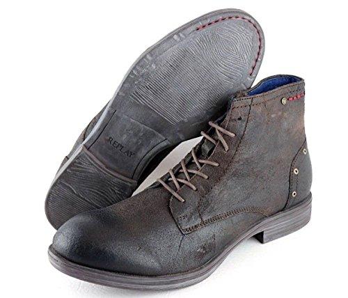 REPLAY WELN Men Boots Stiefeletten Dark Brown