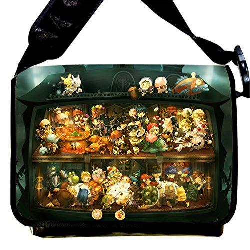Siawasey Pokemon Anime Pikachu Cartoon Messenger Bag Shoulder Bag