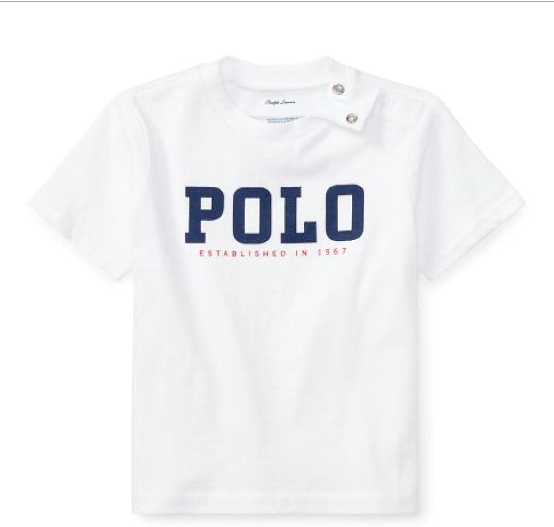 Ralph Lauren - Camiseta - para bebé niño Blanco Blanco 24 Meses: Amazon.es: Ropa y accesorios