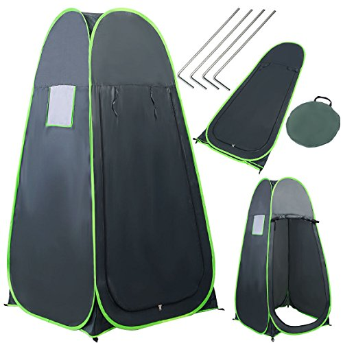 Portable Pop UP Camping Fishing Bathing Shower Toilet Changing Tent Room (Mt Hardware Tent)