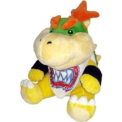 New Super Mario Koopa Bowser Dragon Plush Doll Brothers Bowser JR Soft Plush Toys 18cm: Clothing