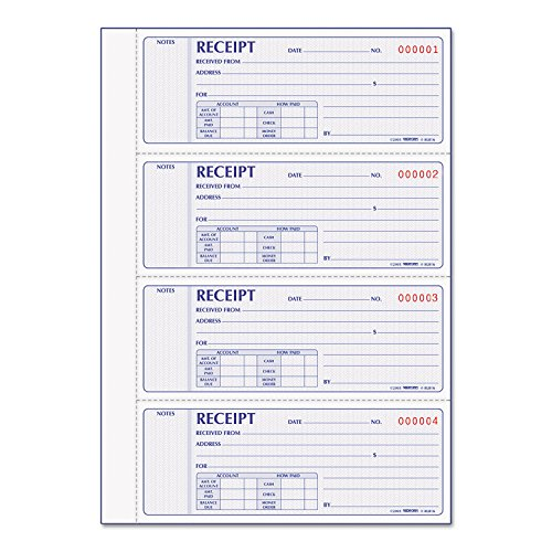 Rediform Receipt Books (RED8L816) ()
