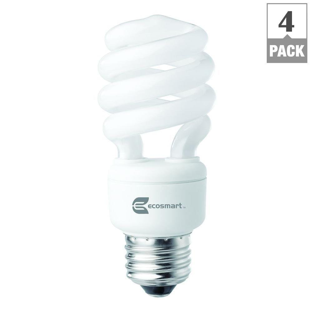 Ecosmart Spiral Cfl Light Bulb Daylight Grow Light Full Spectrum