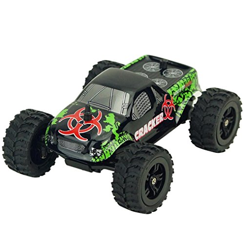 Truck Radio Remote Control Buggy,OVERMAL virhuck 1:32 Scale Rc Monster Big Wheel Off-Road (32 Scale Digital System)