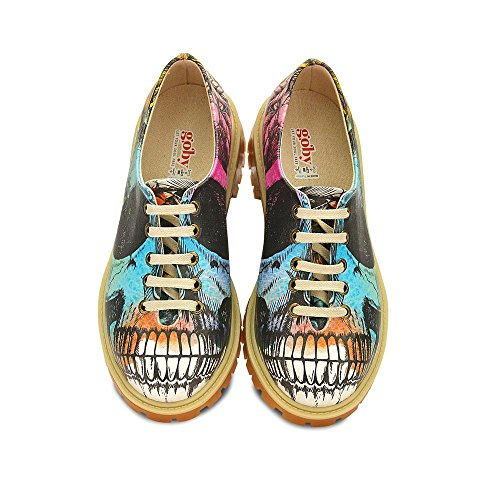Multicolore Multicolore GOBY Chaussures Tmk6504 Tmk6504 Femme Femme Chaussures GOBY vUqw8xTZ