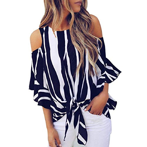 MISYAA Cold Shoulder Tops for Women Long Sleeve Zebra Skin Print Casual Tees Shirts Sexy Blouses Womens Basic Tops - Skin Zebra New