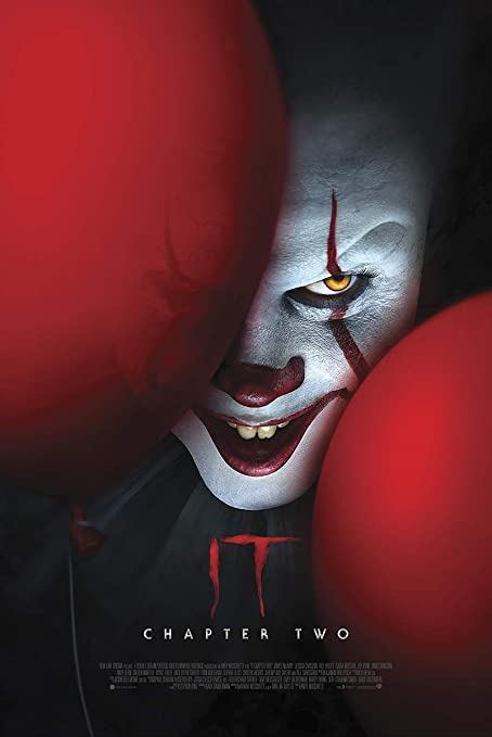 IT Chapter 2 Pennywise Clown Classic Movie Premium METAL Poster Art Print Gift