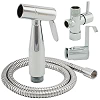 ShowerMaxx Premium Cloth Diaper Sprayer - Adjustable Handheld Toilet Bidet Wa...